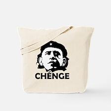 Che-Bama POSITIVE BLACK WHITE Tote Bag