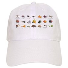Flies_mug Baseball Cap