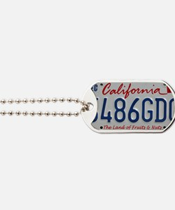 CalPlateFruits Dog Tags