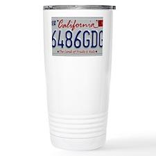CalPlateFruits Travel Mug