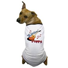ROCKIN POPPY Dog T-Shirt