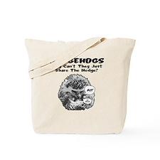 Hedgehog-Shirt Tote Bag