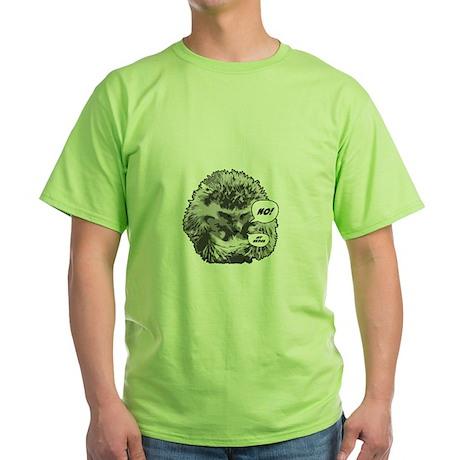Hedgehog-Shirt-blk Green T-Shirt