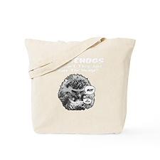 Hedgehog-Shirt-blk Tote Bag