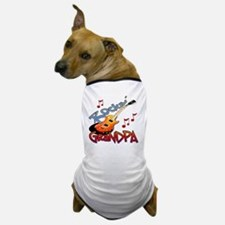 ROCKIN GRANDPA Dog T-Shirt