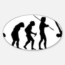 evolutionBreak1A Sticker (Oval)