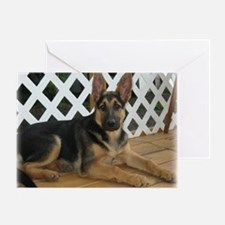 gsd_puppy_mpad4a Greeting Card
