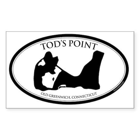 tods sticker2 Sticker (Rectangle)