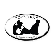tods sticker2 Oval Car Magnet