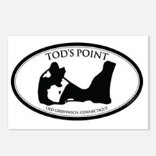 tods sticker2 Postcards (Package of 8)