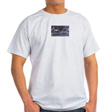 Horse Drawn Funeral Ash Grey T-Shirt