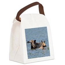 2.75x2 Canvas Lunch Bag