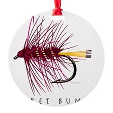 Claret Bumble_1 Ornament
