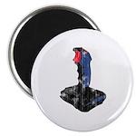 Worn Retro Joystick Magnet