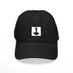 Worn Retro Joystick Black Cap