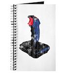 Worn Retro Joystick Journal