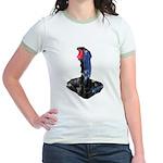 Worn Retro Joystick Jr. Ringer T-Shirt