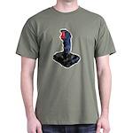 Worn Retro Joystick Dark T-Shirt
