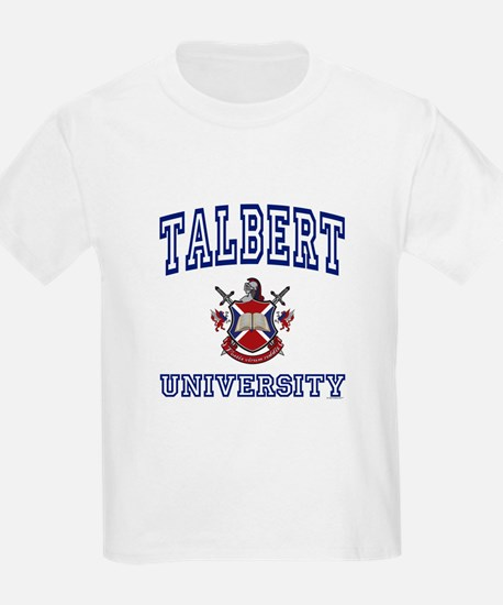 TALBERT University Kids T-Shirt