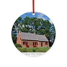 Van Alen House Round Ornament