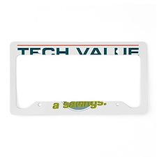 grabthars hammer License Plate Holder