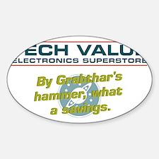 grabthars hammer Decal
