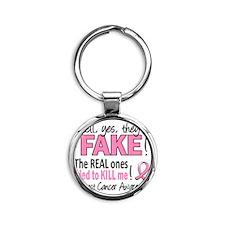 - Fake Round Keychain