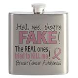 Breast cancer Flask Bottles