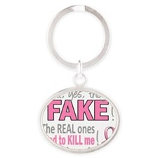 - Fake Oval Keychain