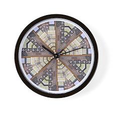 Spice Jar Mandala Wall Clock