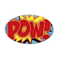 pow-bang-CRD 35x21 Oval Wall Decal