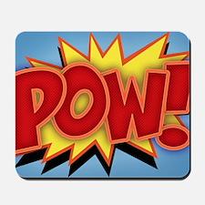 pow-bang-CRD Mousepad