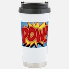 pow-bang-CRD Stainless Steel Travel Mug