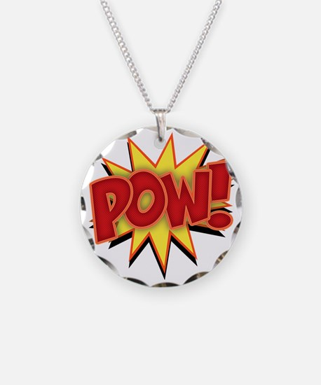 pow-bang-T Necklace