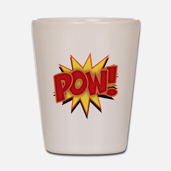 pow-bang-T Shot Glass