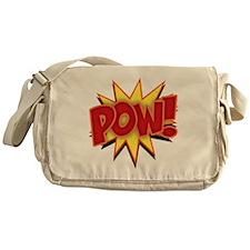 pow-bang-T Messenger Bag