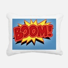 boom-bang-BUT Rectangular Canvas Pillow