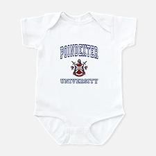 POINDEXTER University Infant Bodysuit
