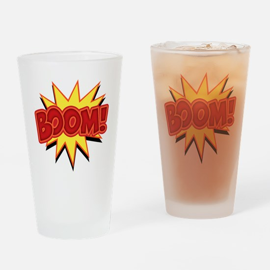 boom-bang-T Drinking Glass