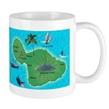 Hawaiian mugs Small Mugs (11 oz)