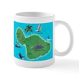Hawaiian mugs Small Mugs (11 oz)