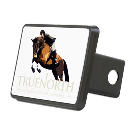 Hunters_TanLogo Rectangular Hitch Cover