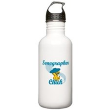Sonographer Chick #3 Sports Water Bottle