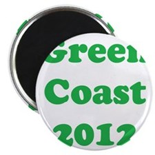 2000x2000greencoast2012clear Magnet