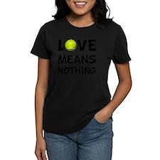 Love Means Nothing Tennis Bla Tee