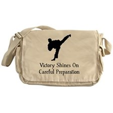Victory Preparation TKD Black Messenger Bag