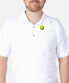 Love Means Nothing Tennis White Golf Shirt