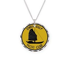 Tonkin Gulf Yacht Club 2 Necklace Circle Charm