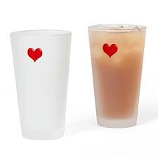 I-Love-My-Weimaraner-dark Drinking Glass