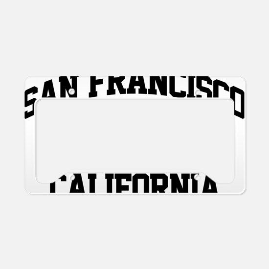 sanfran01 License Plate Holder